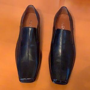NWOB - Aldo Men's Black Dress Loafers 42